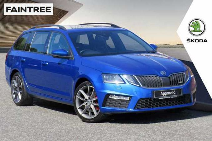 SKODA Octavia vRS Estate (2017) 2.0 TDI vRS (184PS)